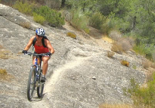 mountain biking el chorro