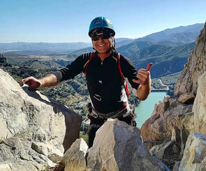 Europe Via Ferrata in el chorro spain