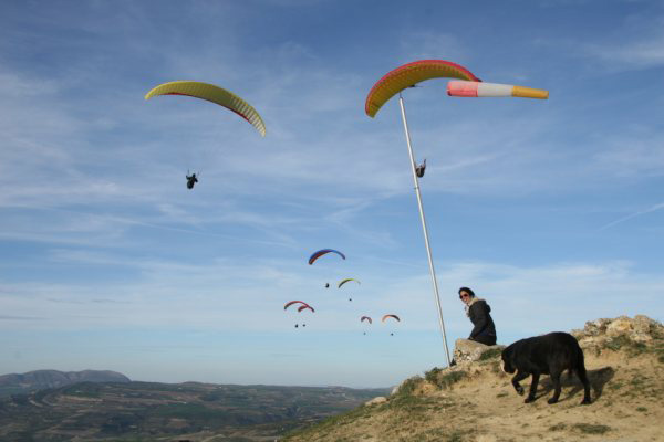 paragliding holidays in andalucis spain via de abdalajis